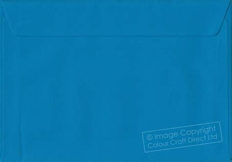 kingfisher blue c5 envelopes 162 mm x 229 mm self seal a5 colour envelope