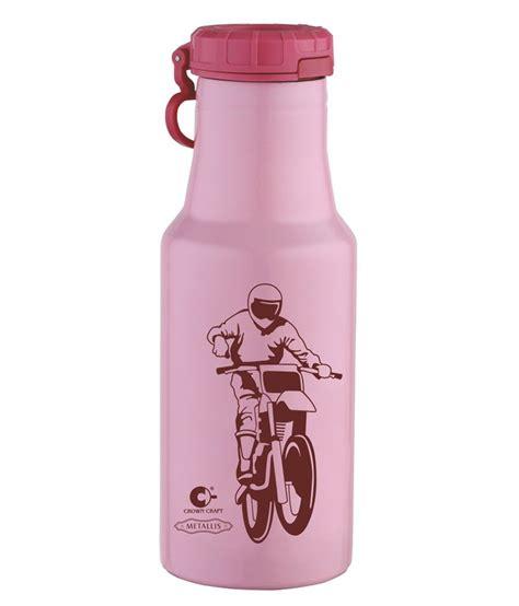 crown craft water bottle crown craft pink kit kat water bottle 500 ml buy online
