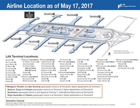 United Check In Baggage by Here Are The Airlines Changing Terminals At Lax In May