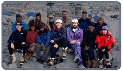 1996 everest film expedition the 1996 adventure consultants expedition rob hall scott