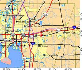 seffner florida fl 33584 profile population maps
