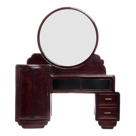 mirrored vanity desk deco mirrored vanity desk chairish