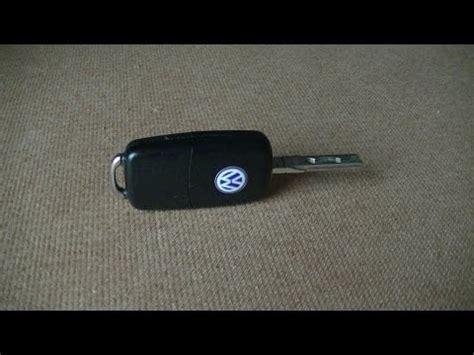 Golf 6 Batterie Leer Auto öffnen by Vw Golf 4 5 6 7 Schl 252 Ssel Batterie Wechseln Doovi