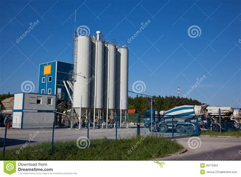 cement factory cement factory stock photos image 26772353