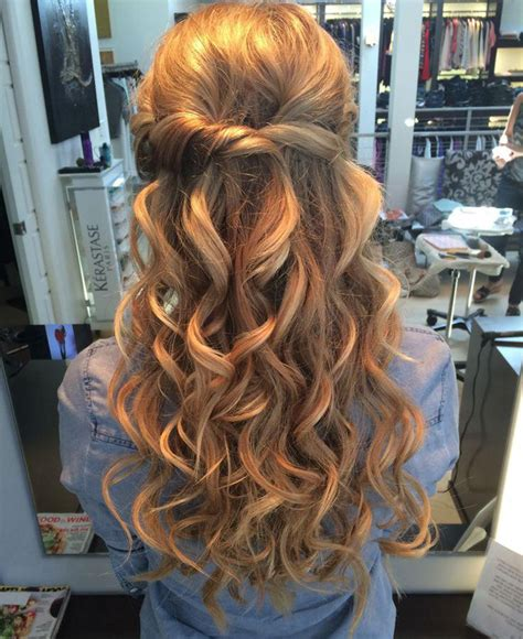 prom hair styles for long hair down hairstyles trendy 10 pretty prom hairstyles for long hair down in 2018