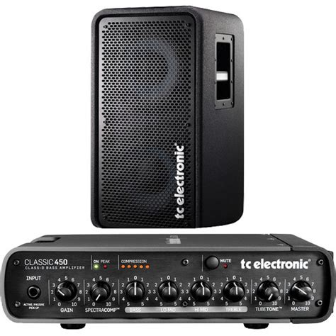 tc electronic rs210 bass cabinet tc electronic classic450 bass head and rs210 speaker
