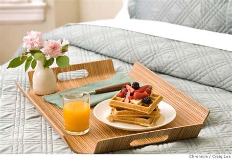 Breakfast In Bed by Gourmet I Bring Husband Breakfast In Bed