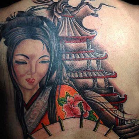 tattoo geisha full back full back geisha tattoo designs tattoos