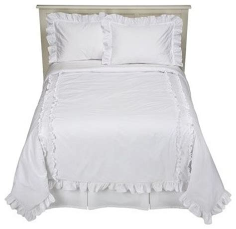 simply shabby chic heirloom comforter set white traditional comforters and comforter sets