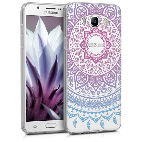 Softcase Transparan Samsung J5 2016 funda para samsung galaxy j7 2016 sol indio azul tpu silicona carcasa