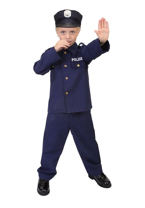 Officer Costume by Child Officer Costume