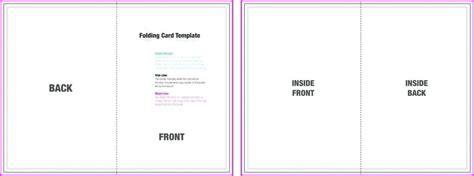 5x7 card template for powerpoint 5x7 card template template