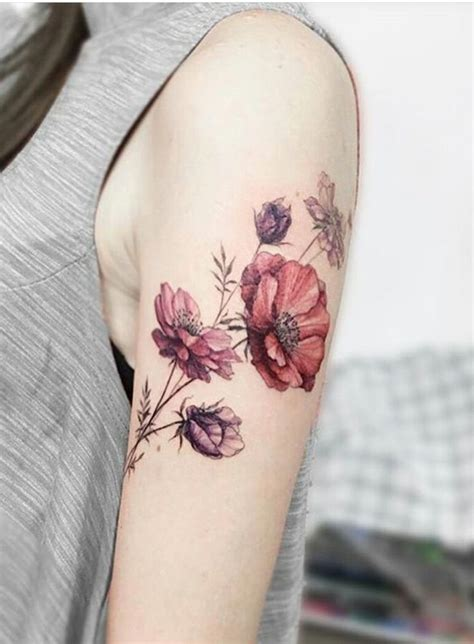 vintage floral tattoo floral images designs