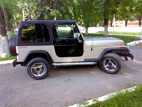 1995 Jeep Wrangler Review 1995 Jeep Wrangler Pictures 2 5l Gasoline Automatic