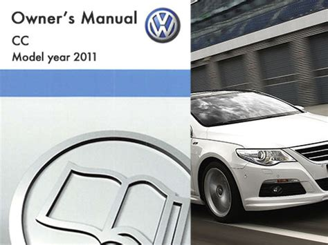 Volkswagen Cc Owners Manual by 2011 Volkswagen Cc Owners Manual In Pdf