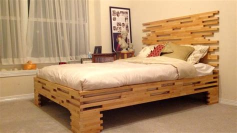 Wooden Bed Frame Ideas Ideas Wooden Bed Frames Derektime Design Easy Design Wooden Bed Frames