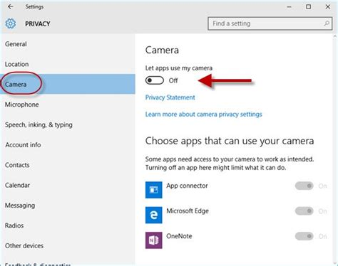 windows 10 camera tutorial how to disable the camera in windows 10