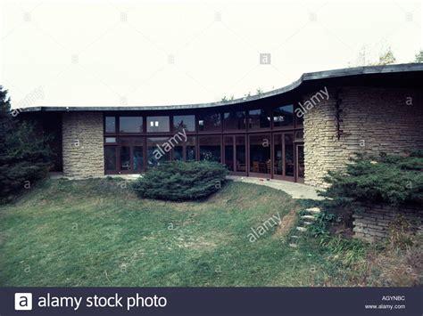 free house middleton wi herbert jacobs house ii 7033 old sauk road middleton wisconsin stock photo royalty