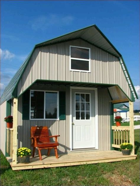 tool shed transformed tiny house design creative idea of sheds that are turned into house homesfeed