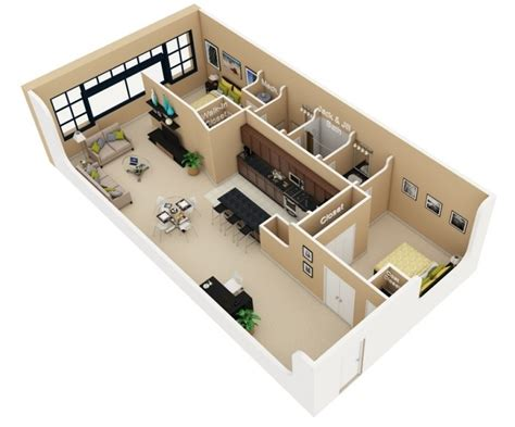 2 bedroom loft apartments 50 two quot 2 quot bedroom apartment house plans architecture