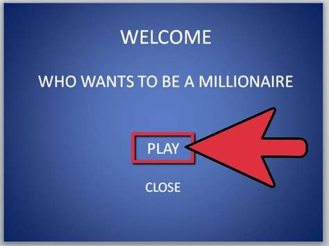 how to make a who wants to be a millionaire game using