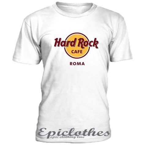 Hardrock Tshirt rock cafe roma t shirt