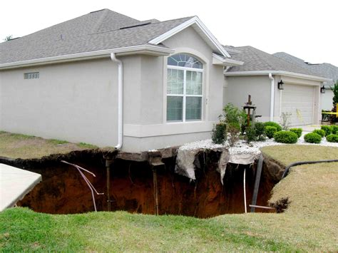 The Villages Homes by Sinkhole In Of Buttonwood Has Entire Neighborhood