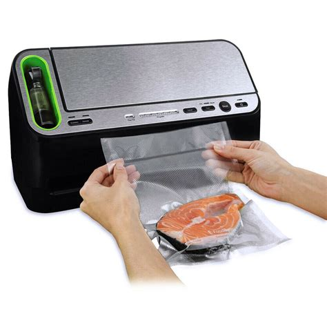 Vaccum Sealer Walmart by Foodsaver V4440 Appliance Vacuum Sealer With Retractable