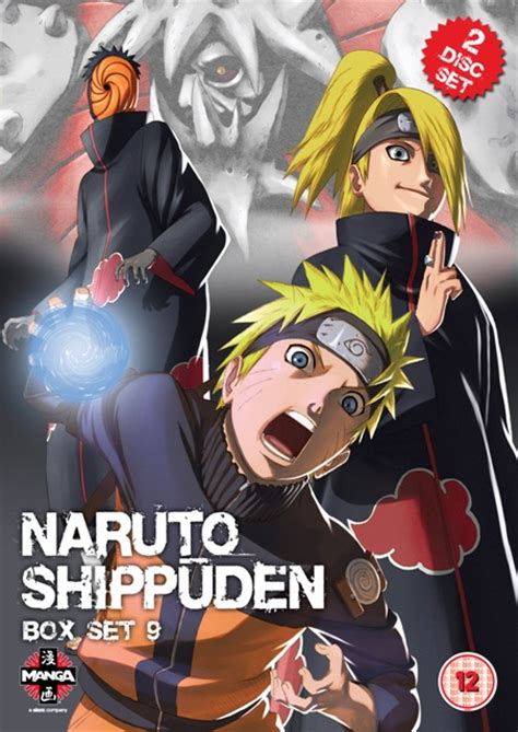 Fmovies Anime by Dvd Review Shippuden Series 9 Box Set Diverse Japan