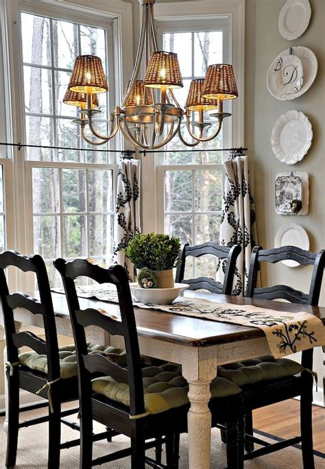 country dining room table 55 fancy country dining room table decor ideas