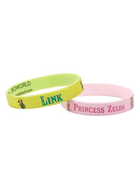 the legend of link princess rubber bracelet 2 pack topic