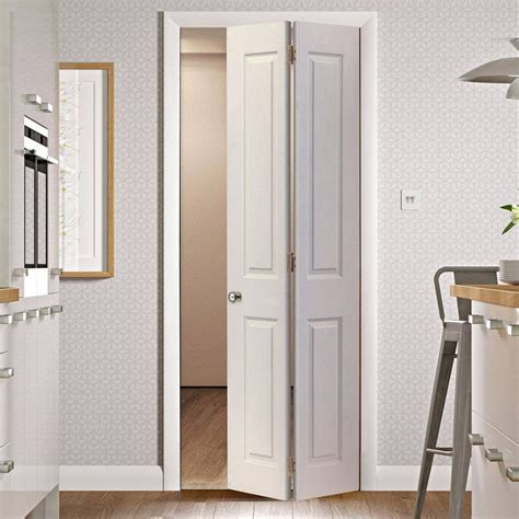 Victorian 4 Panel Bifold Door With Woodgrained Surfaces Is Made To Measure Bi Fold Interior Doors
