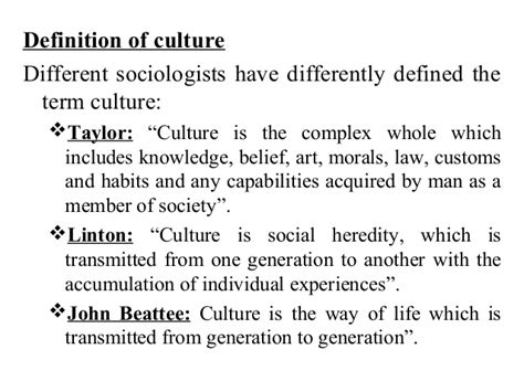 biography definition in sociology lecture 06 culture and types