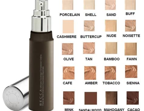 Base Foundation Ultima becca ultimate coverage complexion creme makeup