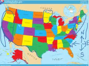 united states map social studies showme