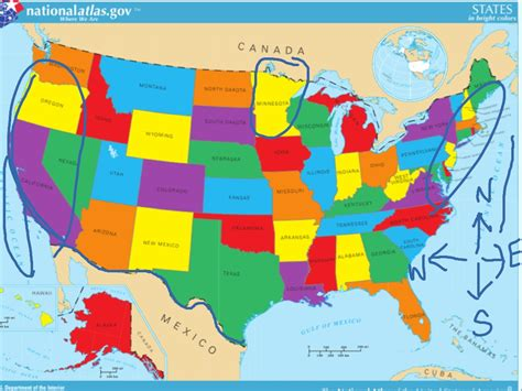 map showing states of usa united states map inside show me the map of states america