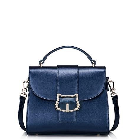 Shoulder Bag Simple just pu leather 2016 autumn new simple style shoulder bag blue