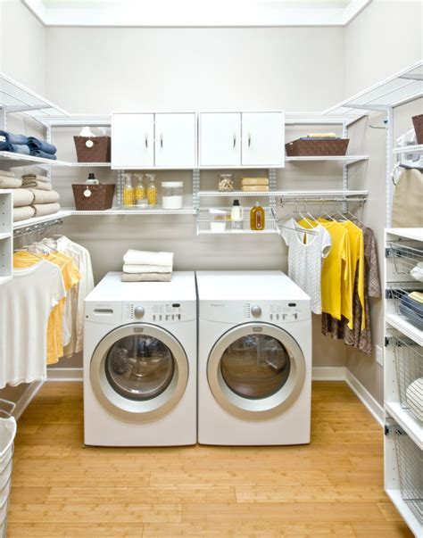 16 laundry room shelving designs ideas design trends