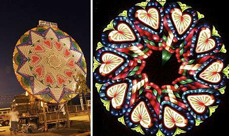 fashion  art trend giant lantern festival   philippines