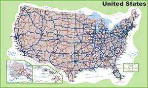 United State Road Map by Usa Road Map