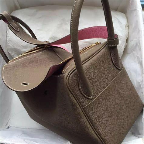 Hermes Lindy Togo cheap c18 etoupe grey 5p pink togo leather hermes lindy bag 30cm hermes crocodile