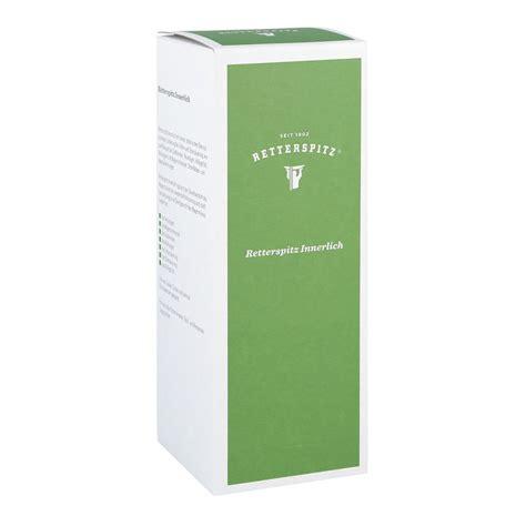 retterspitz innerlich kaufen retterspitz wasser innerlich 350 ml g 252 nstig kaufen