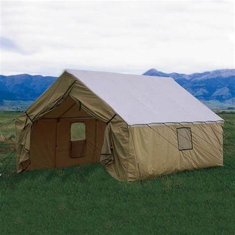 wall tent custom 10 x 12 wall tent by montana canvas