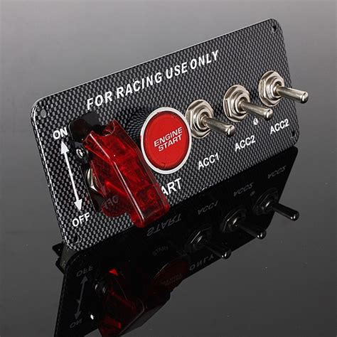 Engine Stop Switch With Stater Uma Racing ignition engine start push button racing toggle switches panel alex nld