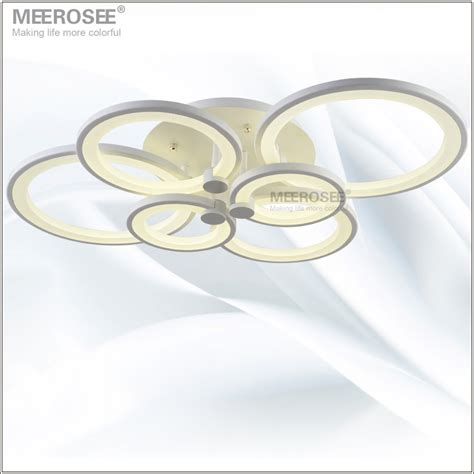 white led ceiling light fixture led ring lustre light