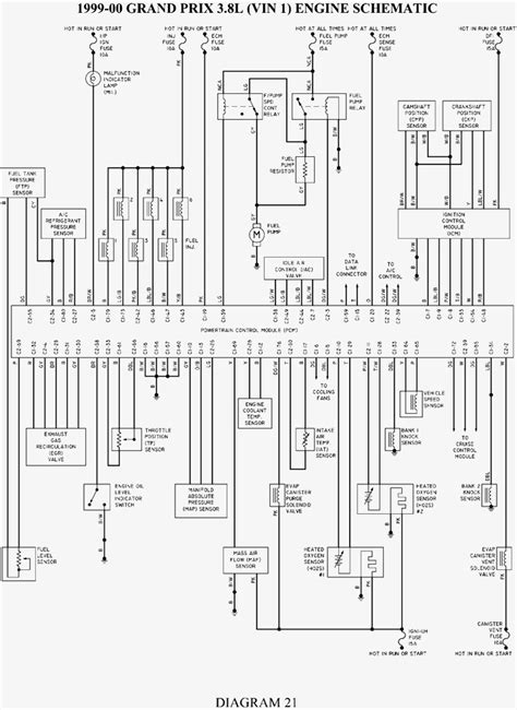 2004 grand prix engine diagram wiring diagrams new