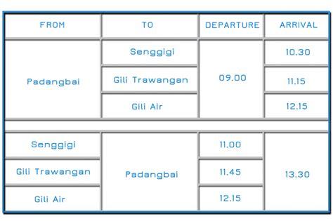 gili air boat schedule fast boat gili fast boat to gili trawangan lombok 30 off