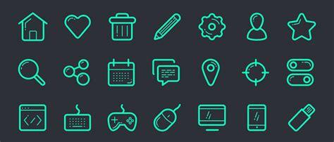 minimalist icons 13 free minimal icon sets for web design