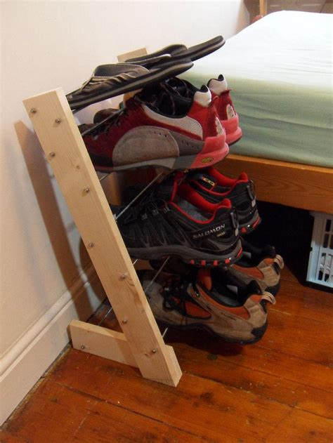 diy shoe racks diy shoe rack tips and tricks to make one easier
