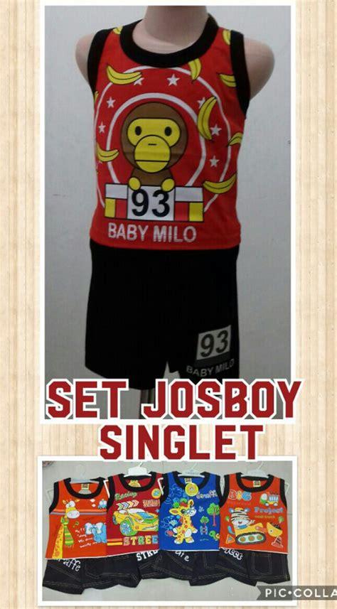 Setelan Singlet Anak Laki Laki Codile S49 Supplier Setelan Singlet Josboy Anak Laki Laki Murah